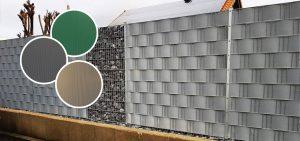 Handmuster für Sichtschutzzäune und Doppelstabmatten